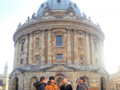 Winter Programme in front of Radcliffe Camera