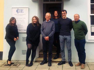 The CIE team